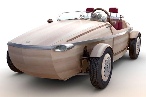 Fából autót? A Toyota megépítette