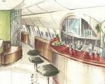 Repülőgépek belülről, luxuskivitelben