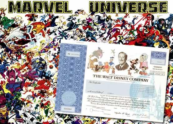 Disney megvásárolta a Marvelt