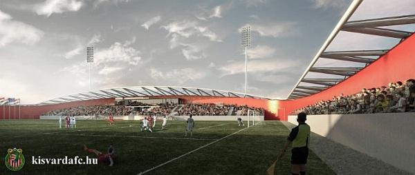 Ilyen lesz Kisvárda 1,5 milliárdos stadionja!