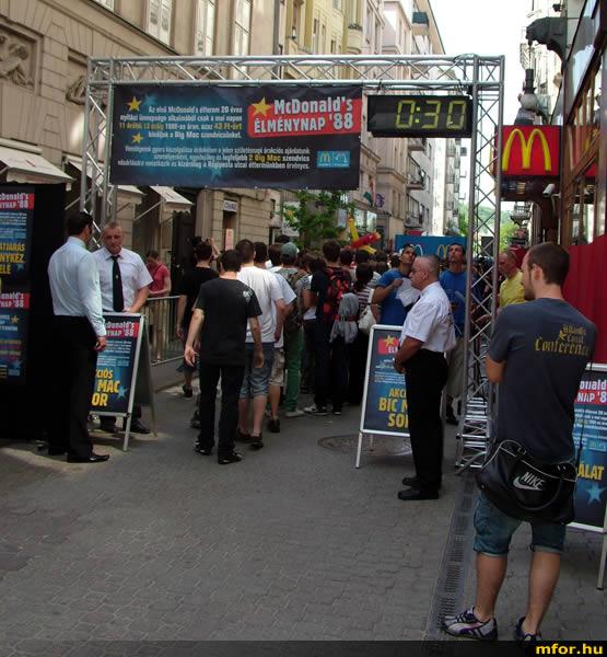 20 éves Magyaroszágon a McDonald's