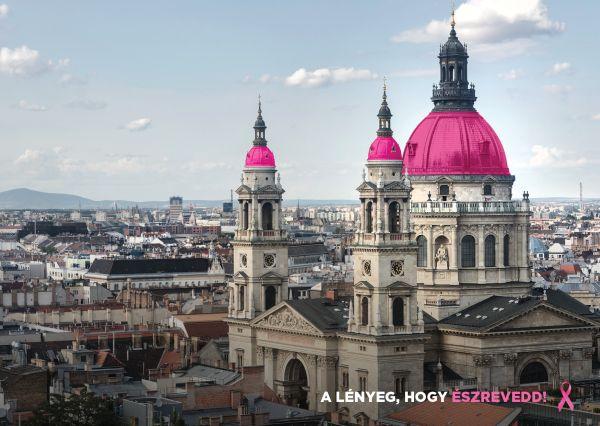 Rózsaszín kupolák lepik el Budapestet (galéria)