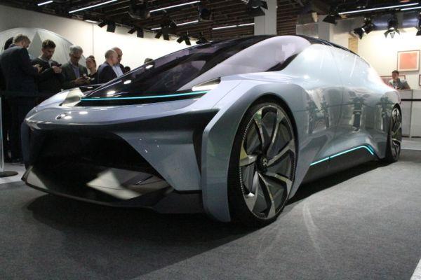 A legszebb önvezető, elektromos kocsi kínai gyártmány