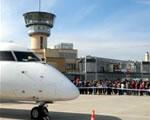 Pécs-Pogány reptér megnyitása