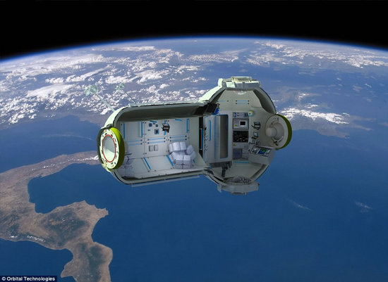 Egymillió dollárért egy hét luxus az űrben