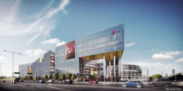 Óriás irodaház növekszik az Üllői úton