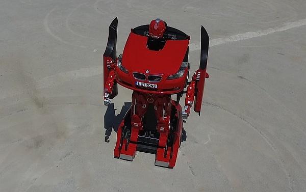 Ez már a valóság: BMW-ből igazi Transformer!