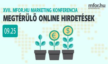 XVII. Mfor.hu Marketing Konferencia - Reklámadó árnyékában - hogyan hirdessünk hatékonyan?