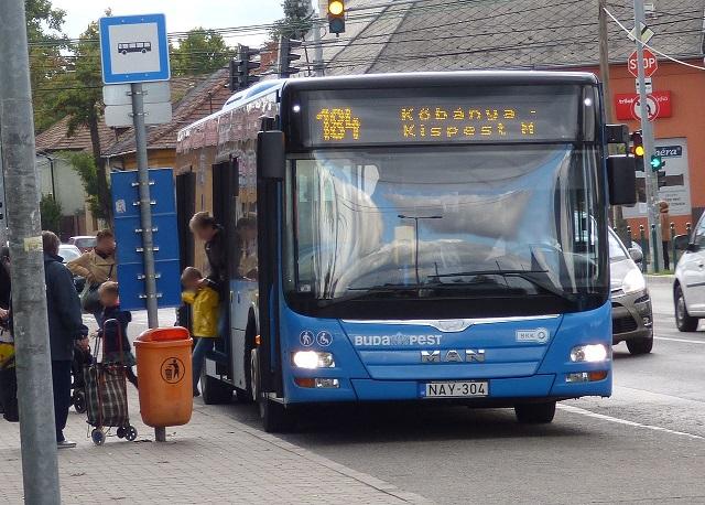 15 új buszt kapott Budapest