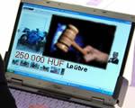 Interneten cseleznék ki az árverési maffiát