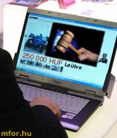 Átverés helyett jönnek az internetes árverések