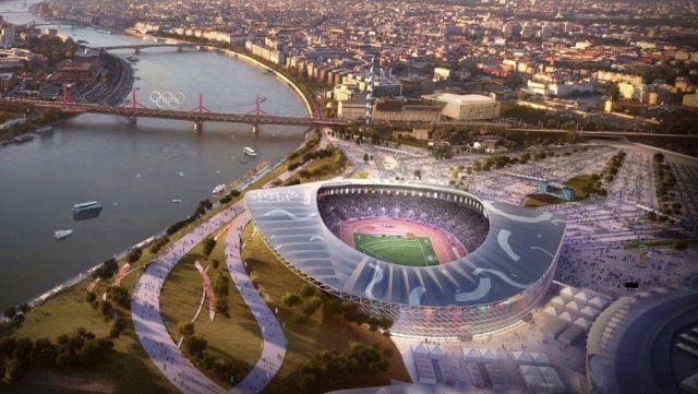 Az atlétikai stadion terve a 2024-es olimpiára. Olimpia nem lesz, stadion igen.