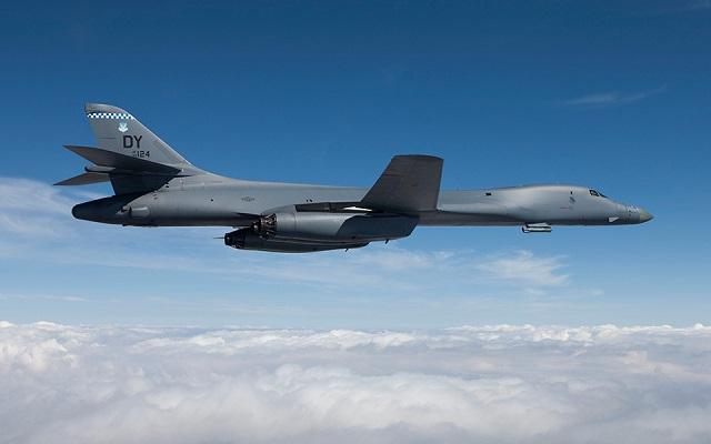Amerikai bombázók repültek át a Koreai-félsziget felett