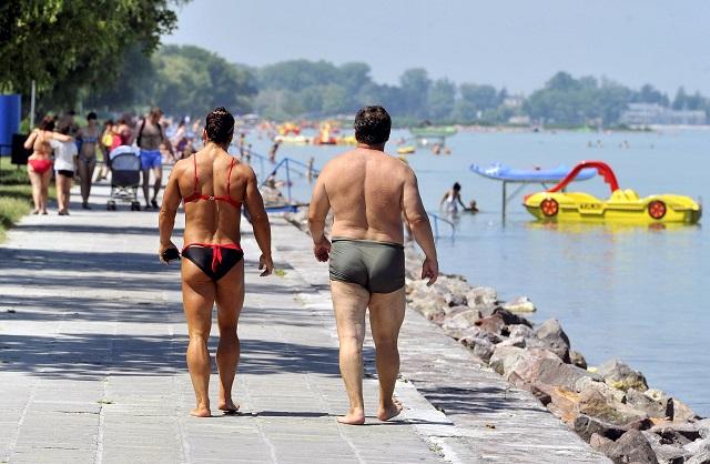 Nagyon megugrott a Balatonon nyaraló külföldiek száma