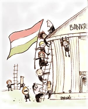 A magyar bankrendszer visszavétele