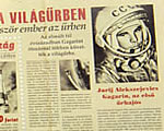 Jubileumi bélyeggel emlékezik Gagarinra a Magyar Posta