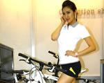 Fitness bicikli a Mercedestől