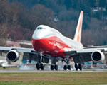 Az új gépóriás, a Boeing 747-8 próbarepülése