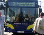 Új alacsonypadlós buszt tesztel a BKV