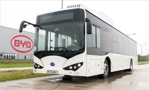 Ilyen lett a komáromi BYD elektromos busza