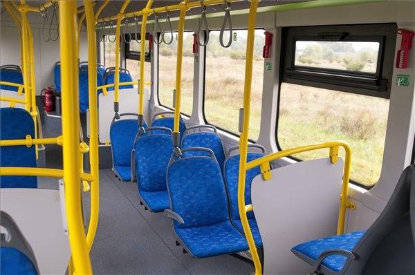 A BYD elektromos busza belülről