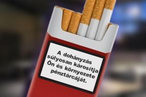 Adóemelés miatt drágulhat a cigaretta