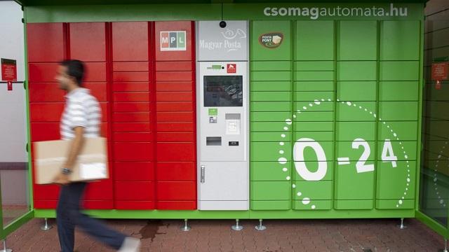 Emelte a csomagautomata szolgáltatás árát a Magyar Posta