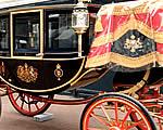 A brit királyi esküvői hintók
