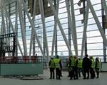 Így áll a SkyCourt építése Ferihegyen