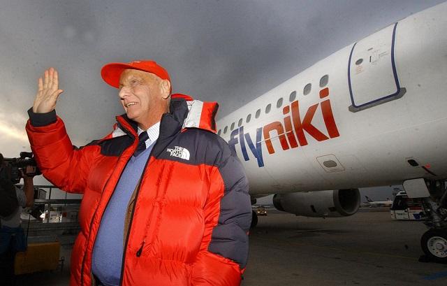 Becsődölt Niki Lauda fapados légitársasága