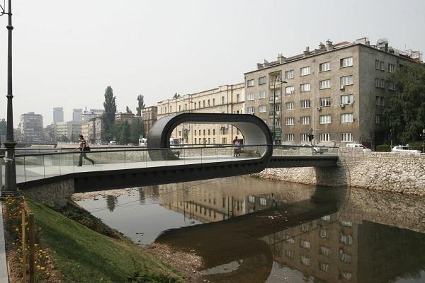 Gyalogoshíd Szarajevóból