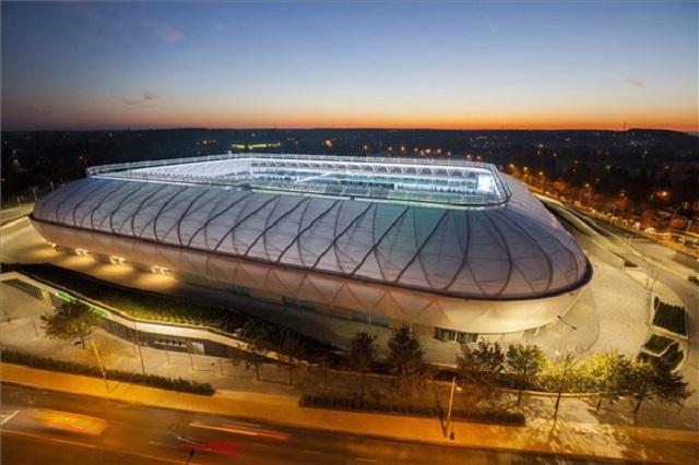A Haladás új stadionja