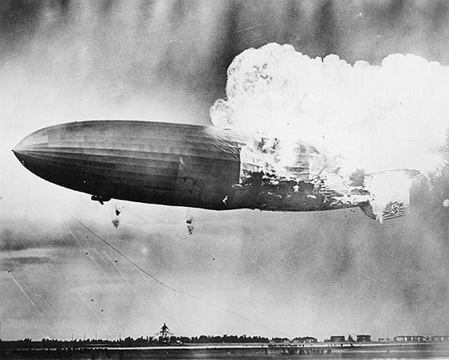 80 éve zuhant le a Hindenburg léghajó