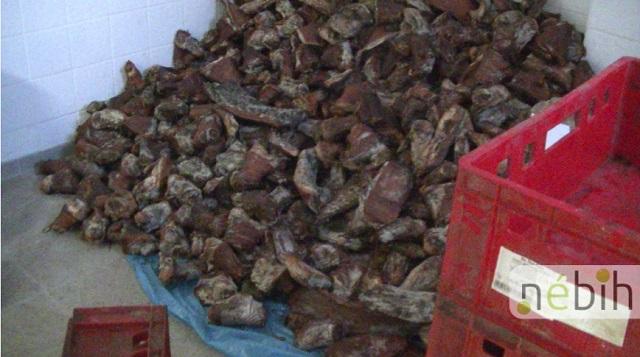 Négy tonna húst semmisített meg a Nébih (videó)