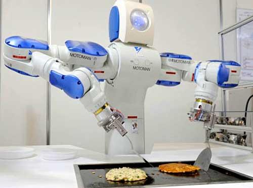 Több százmillió munkahelyet vesznek majd el a robotok