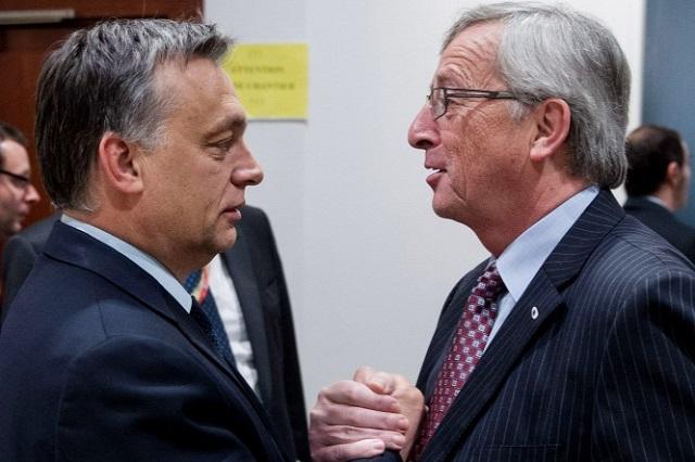 Juncker vacsorán puhítaná meg Orbánt a Merkel-féle fejmosás előestéjén