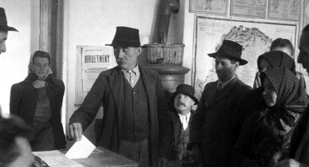 """70 éve voltak a hírhedt """"kékcédulás"""" választások"""