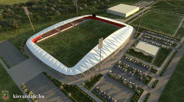 Március végére elkészülhet Kisvárda 713 milliós focicsarnoka