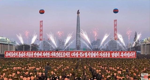 Óriási bulival ünnepelte meg atomhatalommá válását Észak-Korea (videó)