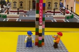 A Bazilikánál épül a világ legmagasabb Lego tornya