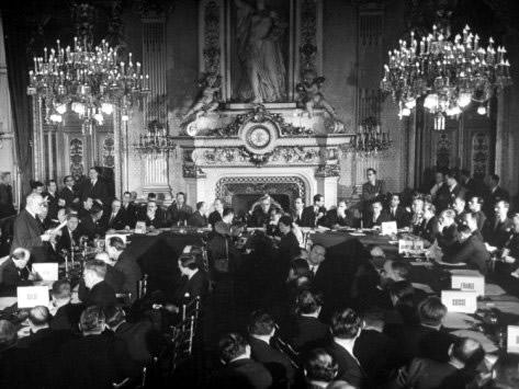 A Marshall-tervet bemutató párizsi konferencia