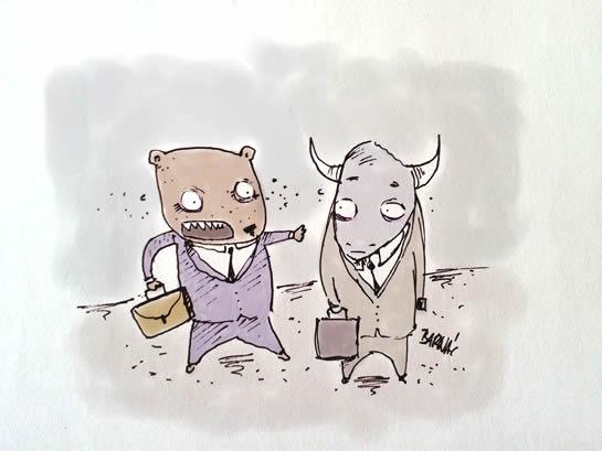 A bika piac olyan, mint a szex