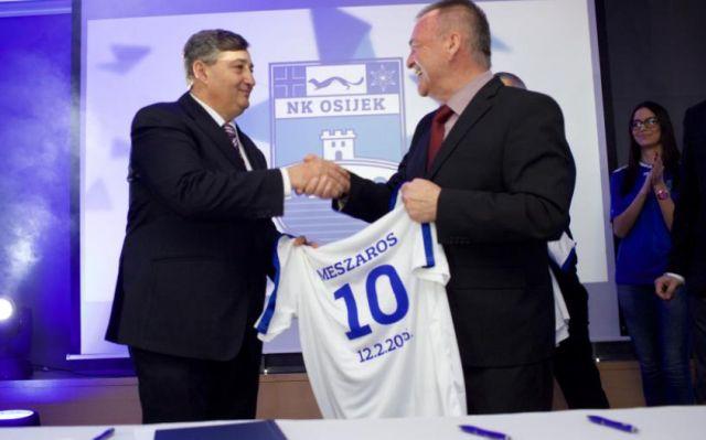 Mészáros horvát focicsapata avathatja a szombathelyi stadiont?