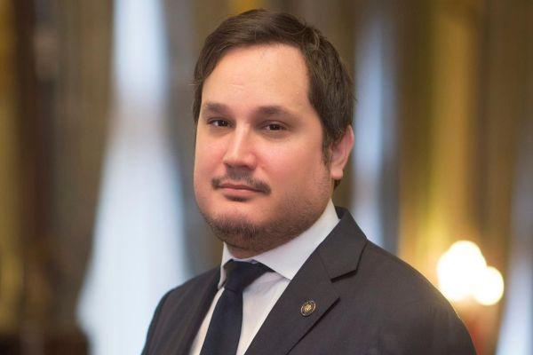 Nagy Márton, a távozó elnök