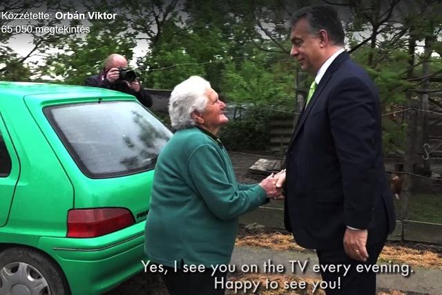 Bözsi néni és Orbán Viktor