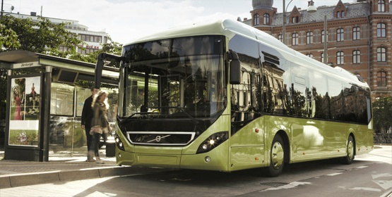 Rába-Volvo buszok