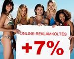 Már a reklámköltések hetedét viszi a hazai online média