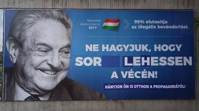 Még a leszedés előtt ítéli el a reklámszakma a Soros-kampányt