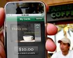 Okostelefonnal lehet fizetni a Starbucks kávézókban Amerikában