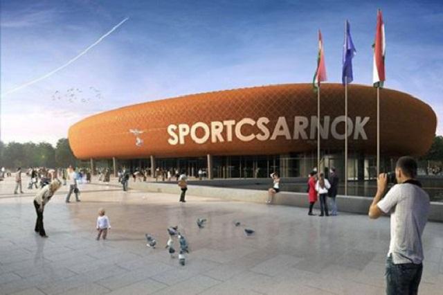 A 15 milliárdos sportcsarnok látványterve